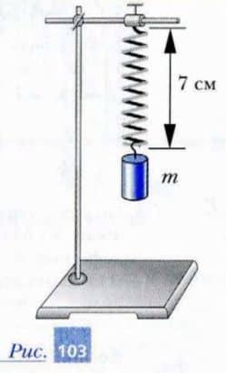 определение массы груза по деформации пружины