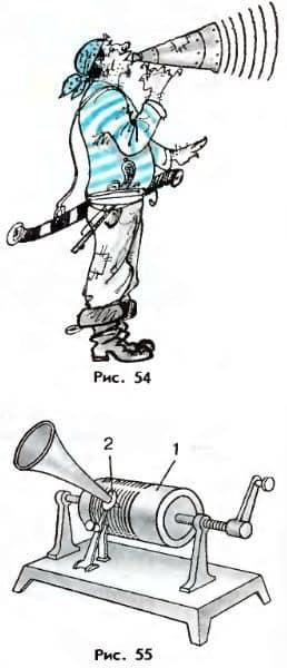 мегафон и фонограф