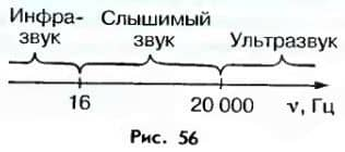 частота инфразвука и ультразвука
