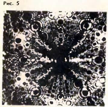 картина атомов в ионном проекторе
