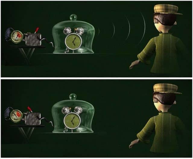 распространение звука в воздухе